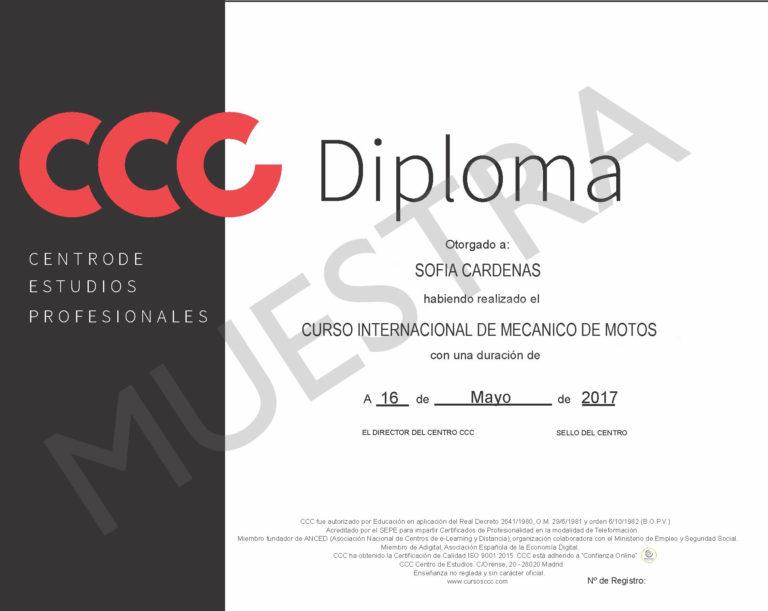Diploma mecanica de mtoso